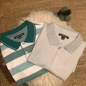 NWT! Two Michael Kors Polo Shirts